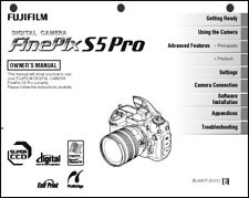 FujiFilm FinePix S5 Pro Digital Camera User Guide Instruction  Manual