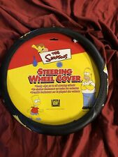 THE SIMPSONS STEERING WHEEL COVER-BART, HOMER and MARGE