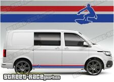 VW Volkswagen Transporter sides 062 Surf stripes T4 T5 T6 graphics stickers