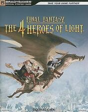Final Fantasy : The 4 Heroes of Light by BradyGames Staff (2010, Paperback, Gui…