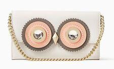 NWT $199 Kate Spade blaze a trail milou Owl Leather Wallet Clutch Purse!