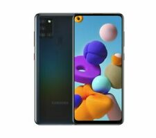 "SAMSUNG Galaxy A21s SM-A217F 6.5"" screen 32 GB Android Dual SIM- Black"