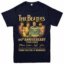 Los Beatles 60th Aniversario Camiseta, banda de rock, los Beatles Regalo La Mejor