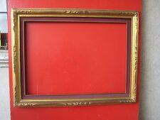 Cornice Intagliata antica per quadro tela cm 65x85  in legno -  10 Arredo antico