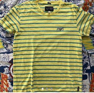 Armani Exchange Mens Stripe Tee Sz M