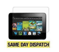 "3 X NEW Amazon Kindle Fire HD 7"" 2013 2nd Clear LCD Screen Protectors Film"