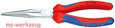 Knipex 26 15 200 Flachrundzange mit Schneide 2615200