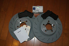 Mercedes Benz E55 E63 CLS55 AMG Brake Rear Rotors & Pads Genuine OEM