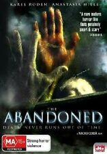 THE ABANDONED  DEATH NEVER RUNS OUT OF TIME REGION 4 DVD HORROR