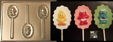 Sesame Street Baby Lollipop Elmo Big Bird Chocolate Candy Soap Crayon Mold