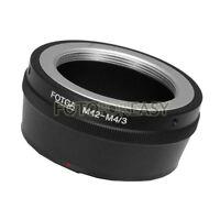 FOTGA M42 Objetivo A Micro 4/3 m4/3 Adaptador para G1 G7 GH1 GF1 GF7 EP-1 E-PM2