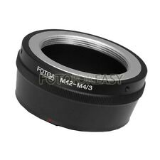 FOTGA M42 Lens To Micro 4/3 m4/3 Adapter for G1 G7 GH1 GF1 GF7 EP-1 E-PM2 E-PL7