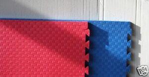 Puzzlematte, Kampfsport, Fitness Matte Checker. 1x1m x2cm. Kampfsportmatte