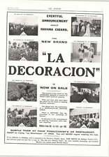 1905 Havana Cigars New Brand Decoracion Jose Riego