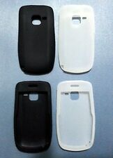 New Silicon case for Nokia C3 -- Black & White, 2 pcs set