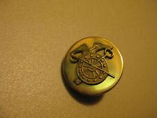 Vintage World War II, Army Brass Screw back (pin) Official Uniform piece