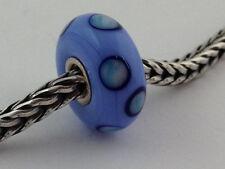Authentic Trollbeads Ooak Murano Glass Unique Bead Charm #103, 14mm Diameter New