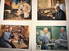 A History of Medicine in Pictures 35 Prints By Parke, Davis & Company