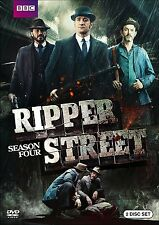 RIPPER STREET: SEASON 4 FOUR DVD - MATTHEW MACFADYEN - JEROME FLYNN