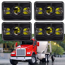"4x6"" 240W LED Headlights Hi/Lo Beam for Chevy C10 C20 C30 Camaro EI C5500 Kodiak"