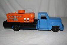 1950's Ideal Toys Large Plastic Compressor Truck with Opening Doors, Origina
