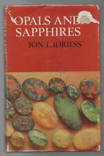 ION IDRIESS  'OPALS AND SAPHIRES ' EXTREMELY SCARE 1ST ED WITH ORIGINAL D/J 1967