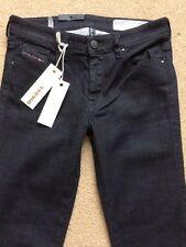 """Diesel Doris Super Slim Skinny Noir Femme Jeans, W26"""", L32"""", RRP £ 140"""