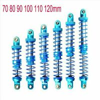 Oil Adjustable Alloy Shock Absorber for 1/10 RC Crawler Axial SCX10 TRX4 D90 Car