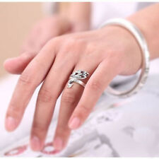 Shaped Pure Silver Certificate Plated Christmas Silver Shape Animal Ring