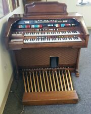 Hammond Colonnade Organ, Model number 333272, Walnut & Foot Pedal