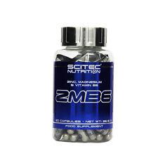 (EUR 0,18 / Einheit) Scitec Nutrition ZMB6 ZMB Zink Magnesium 60 caps Kapseln