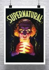 Supernatural Mysterious Fortune Teller Vintage Poster Canvas Giclee 24x32 in.