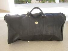 Bagage, grand sac voyage Mac Douglas en cuir graine noir