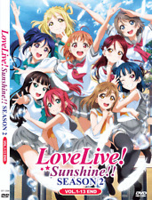 ANIME DVD Love Live! Sunshine!! Sea 2 Vol.1-13 End ENGLISH AUDIO + FREE DVD