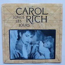 CAROL RICH LONG LES JOURS   990137