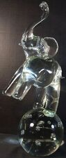 Licio Zanetti Murano (Venecian) Elephant on Glass Ball