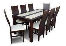Esstisch &  8x Stühle Esszimmer Set Essgruppe Kalssischer Tisch Stuhl Tische Z36