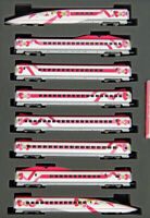 Tomix 98662 JR Series 500-7000 Sanyo Shinkansen 'Hello Kitty' 8 Cars (N scale)
