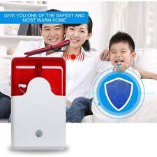 Wired Alarm Strobe Siren 12V Flashing Light Sound Siren Security Alarm System SL