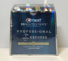 Crest 3D Whitestrips Professional Express Teeth Whitening Kit Exp 2022+ 1370