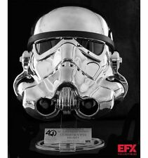 EFX #276 500 Made Star Wars Chrome Stormtrooper Helmet Exclusive LE 40th X Wing
