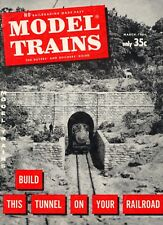 model trains Model Railroading Made Easy magazine March 1961 Very Good Cond