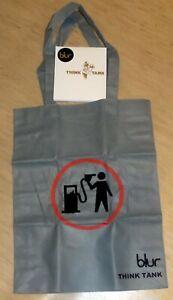 Blur Think Tank CD BANKSY Designed Ultra Rare Shopping Bag Poster Taiwan print