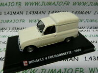 AP22N Voiture 1/43 IXO AUTO PLUS : Renault 4 fourgonnette 1962