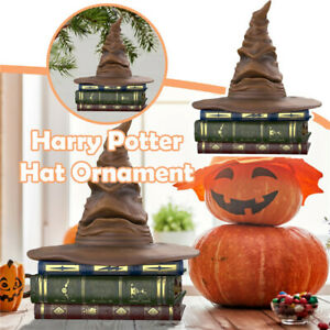 Harry Potter Sorting Hat Hallmarks Keepsake XMAS Room Decor Magic Hat Ornament