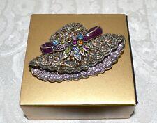 "NIB $140 HEIDI DAUS ""Brilliant Bonnet"" Brooch Pin SWAROVSKI Crystal"
