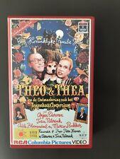 Theo & Thea Tenenkaas Big Box ExRental Vintage VHS Tape Dutch NL Film Videoband