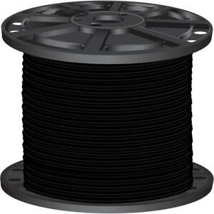 Southwire THHN Cable 500 ft. Insulated Heat/Moisture Resistant Stranded Black