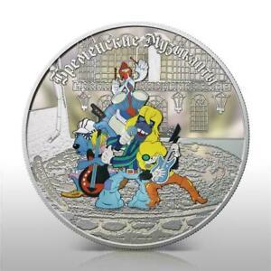 Cook Islands 2011 5$ Bremen Town Musicians - Band 1 Oz Silver Coin