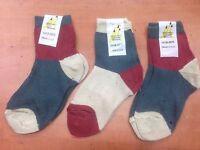 3 Pairs Boys Ankle Socks Lightweight School Everyday Wear